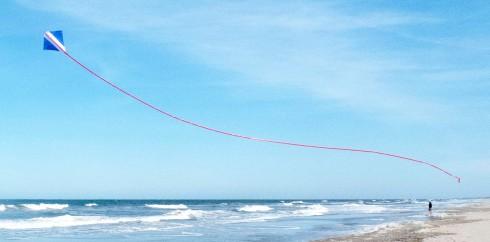 The Peter Powell Diamond Stunt Kite